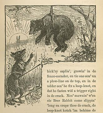 Br'er Fox and Br'er Bear - Br'er Fox and Br'er Bear, from Uncle Remus, His Songs and His Sayings: The Folk-Lore of the Old Plantation, 1881