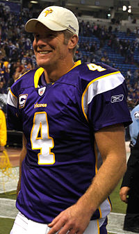 brett favre  favre the vikings in 2009