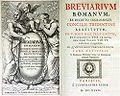 Breviarium romanus 1647.jpg
