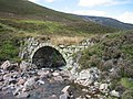 Bridge on the Old Military Road in Glen Clunie - geograph.org.uk - 34265.jpg