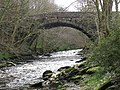 Bridge over Afon Ceiriog at Pontfadog - geograph.org.uk - 1772740.jpg