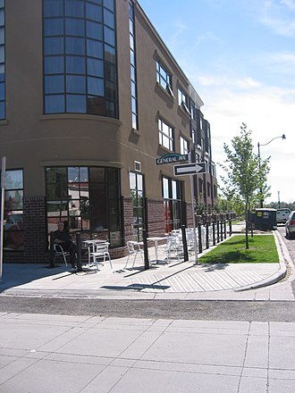 Transit-oriented development - Bridgeland, Calgary