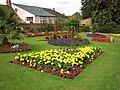 Brimming flower beds in Castle Park - geograph.org.uk - 545322.jpg