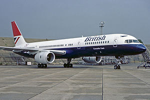 British Airways Boeing 757-236 Heathrow Fitzgerald.jpg
