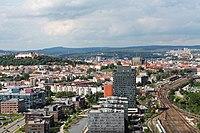 Brno, Štýřice, Pražákova, výhled z AZ Toweru (2013-05-22; 28).jpg