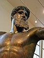 Bronze Statue of Zeus or Poseidon, Cape Artemision, northern Euboea, Severe Style, early Classical, ca. 460 BC (3423218445).jpg