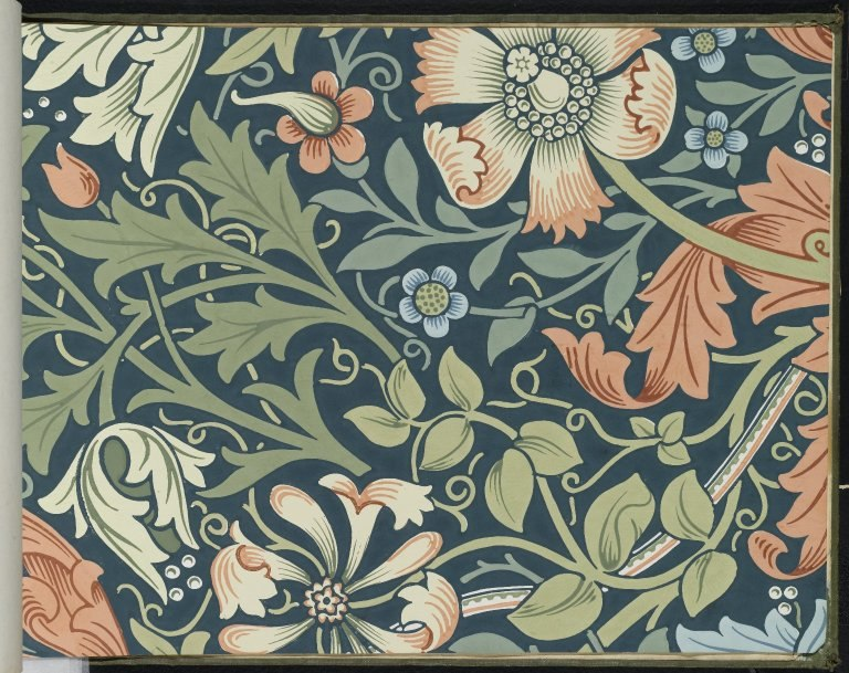 Brooklyn Museum - Wallpaper Sample Book 1 - William Morris and Company - page127