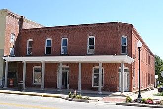 Wilson County, Kansas - Image: Brown Hotel, Neodesha, KS