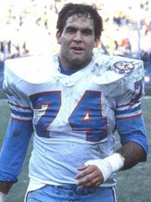 Bruce Matthews (American football) - Matthews in 1984