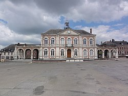Brunehamel (Aisne) mairie.JPG