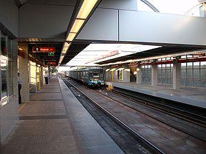Pillangó utca (Budapest Metro) - Image: Budapest Metro Pillangó utca