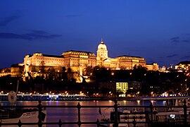 Budapest castle night 5