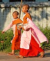 Buddhist Novitiate Girls - Yangon (Rangoon) - Myanmar (Burma) (11797491984).jpg