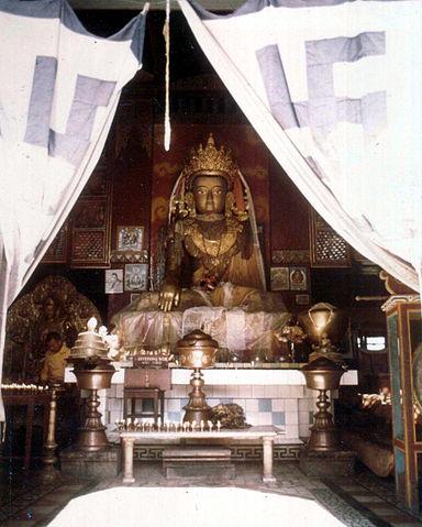 File:Buddhist gompa, Swayambhunath.JPG