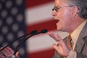 Buddy Roemer - Roemer speaking at a John McCain presidential rally in Louisiana, June 2008