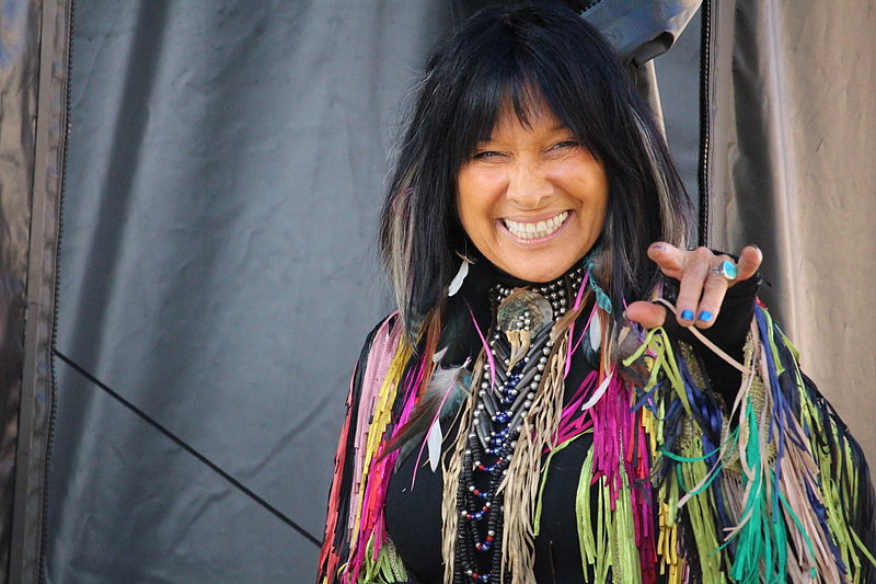 For Canada Day, let's sing along with Buffy Sainte-Marie and think about what that means.