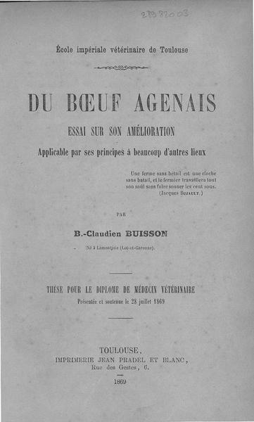 File:Buisson - Du bœuf agenais.pdf