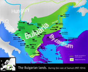 Battle of the Gates of Trajan - Bulgaria in the years after the battle.