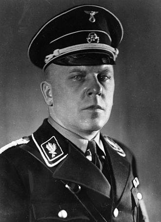Max Amann - Amman as an SS-Gruppenführer