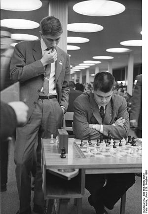 William Lombardy - Lombardy and Fischer at the 14th Chess Olympiad in Leipzig