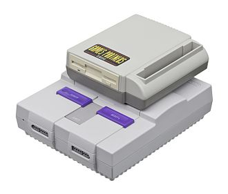 Game backup device - The Game Partners Classic, made by Bung for the Super Nintendo.