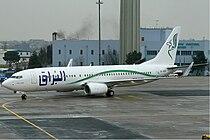 Buraq Air Boeing 737-800 KvW.jpg