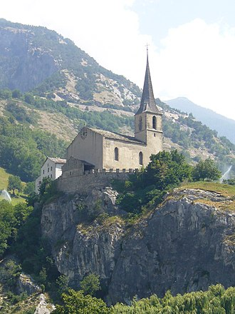 Raron - Church of St. Roman