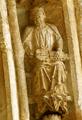 Burgo de Osma (Soria) Catedral 2 Portico Arquivolta 2 Dovela 8-9 020 Organistrum DSC 0720.png