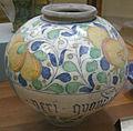 C.sf., venezia, bottega di maestro domenico, vaso a boccia, seconda metà del xvi sec..JPG