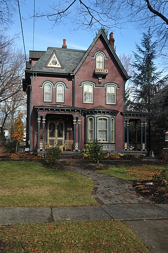 Merchantville, New Jersey - Cattell Tract Historic District