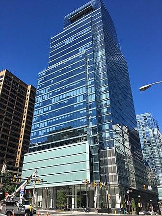CEB Inc. - CEB Tower in the Rosslyn neighborhood of Arlington, VA.