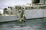 CH-46D of HC-11 after crashing on USS Fife (DD-991) 1986.JPEG