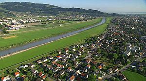 Lustenau - Image: CINEDOKU VORARLBERG Rhein Lustenau Wiesenrain Hanno Thurnher Filmproduktion