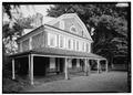CLOSER VIEW OF WEST FRONT FROM NORTHWEST - Cedar Grove, Landsdowne Drive, Philadelphia, Philadelphia County, PA HABS PA,51-PHILA,231-10.tif