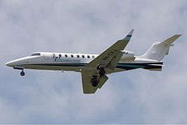 CMS Air Ambulance Bombardier Learjet 45 DRW Butler.jpg