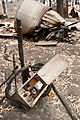 CSIRO ScienceImage 10347 Remains of a destroyed property at Kinglake after the Black Saturday bushfires.jpg