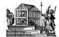 Cage of Bayezid-Chronicorum Turcicorum.png