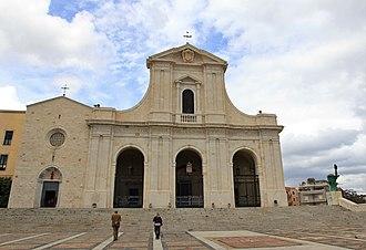 Shrine of Our Lady of Bonaria - Image: Cagliari Santuario della Madonna di Bonaria (03)