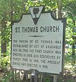 Cainhoy St. Thomas Church historical marker.jpg