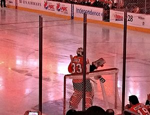 2013–14 Philadelphia Flyers season - Cal Heeter made his NHL debut on April 13, 2014.