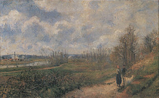 The Path to Le Chou, Pontoise