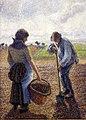 Camille pissarro, contadini nei campi, éragny, 1890, 02.jpg