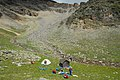 Camp at an altitude of 5080 m. Upper DOLPA trekking in August. - panoramio.jpg