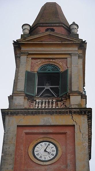 Chiesa Parrocchiale di Sant'Agostino, Ferrara - The belltower of the church