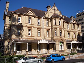 Camperdown, New South Wales - Image: Camperdown Royal Prince Alfred Hospital 1