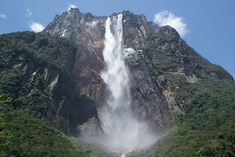 Pontos turísticos na Venezuela