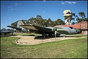 Canberra Bomber on display RAAF Wagga Wagga-1 (39358185481).jpg
