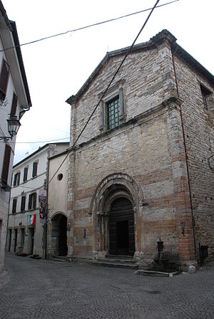 Cantiano - Church in Cantiano