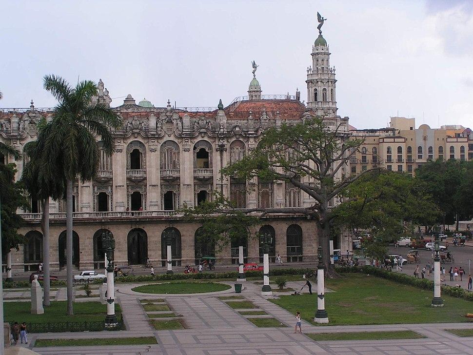 Capitolio von hinten
