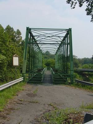 Cacapon River - The Capon Lake Whipple Truss Bridge at Capon Lake, West Virginia